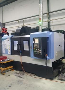 1 unit CNC milling Doosan DNM 400-II (800x435x510)